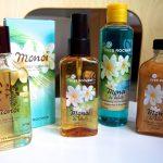 Pala paratiisisaarta kesäksi Monoi de Tahiti-tuotteilla