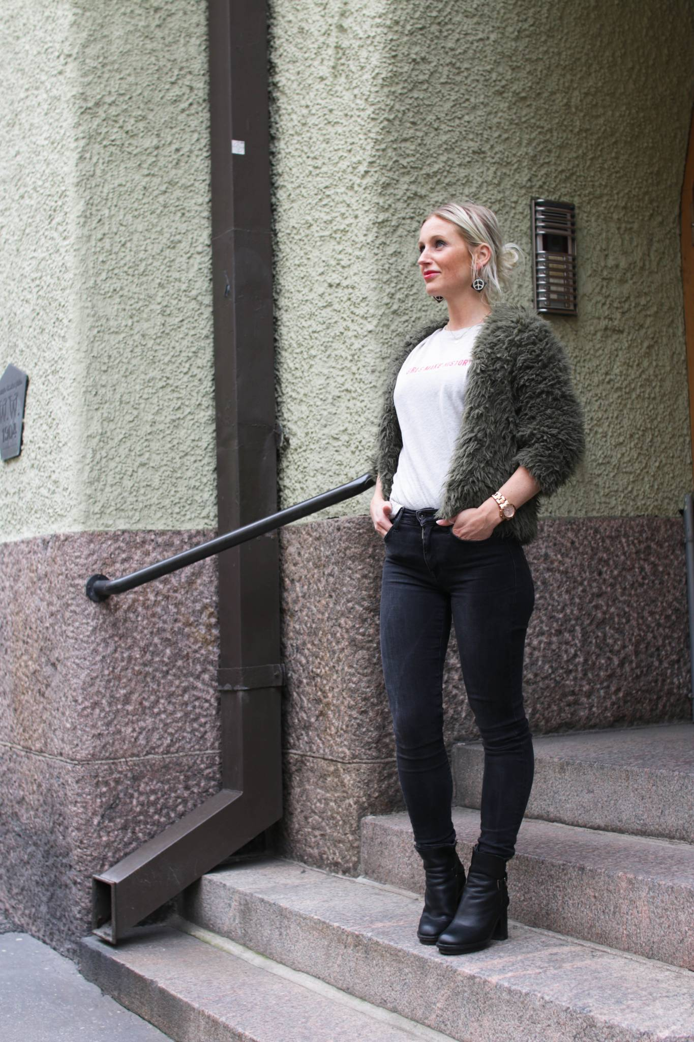 Pörrötakki-asu ja throwback pariin legendaariseen blogipostaukseen vuosien takaa