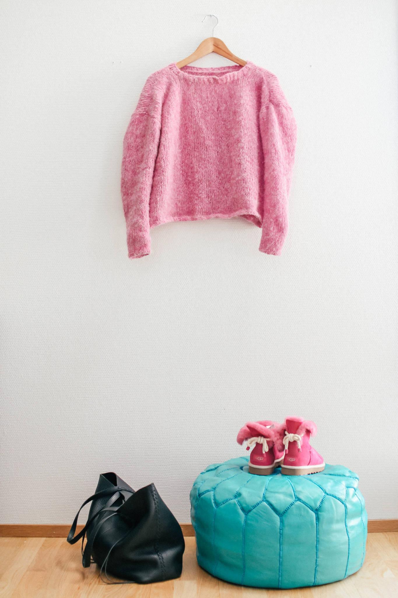 Pehmeän Barbie-villapaidan helppo ohje