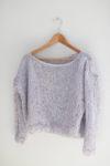 DIY: Kevään hempeä laventelineule