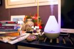 Aromaterapiaa ja kurkistus makuuhuoneeseen