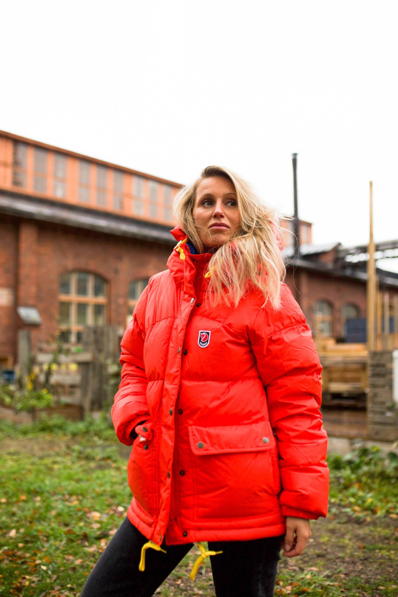 Talven lämpimin takkihankinta – Iines Aaltonen