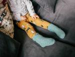 DIY: Lasten villasukat helmineuletta