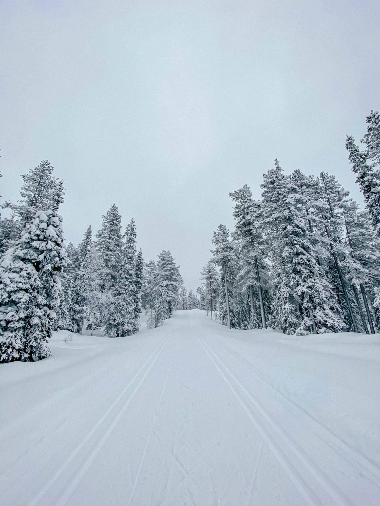 Lumen keskellä