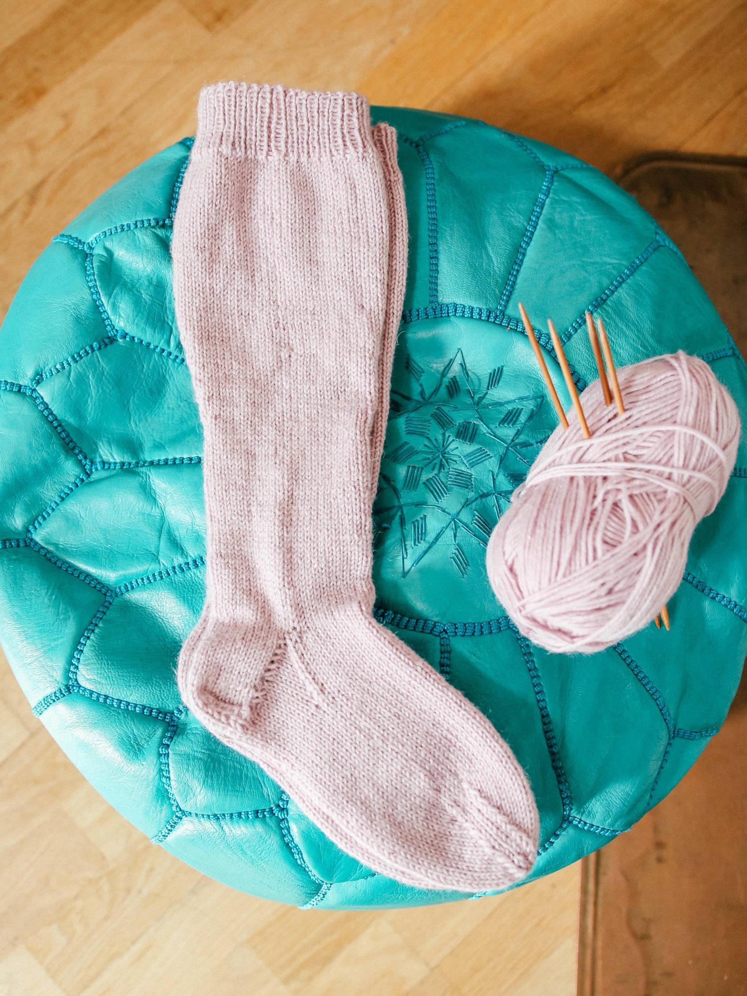 DIY: Ihanimmat pitkät villasukat ja ohjevinkki